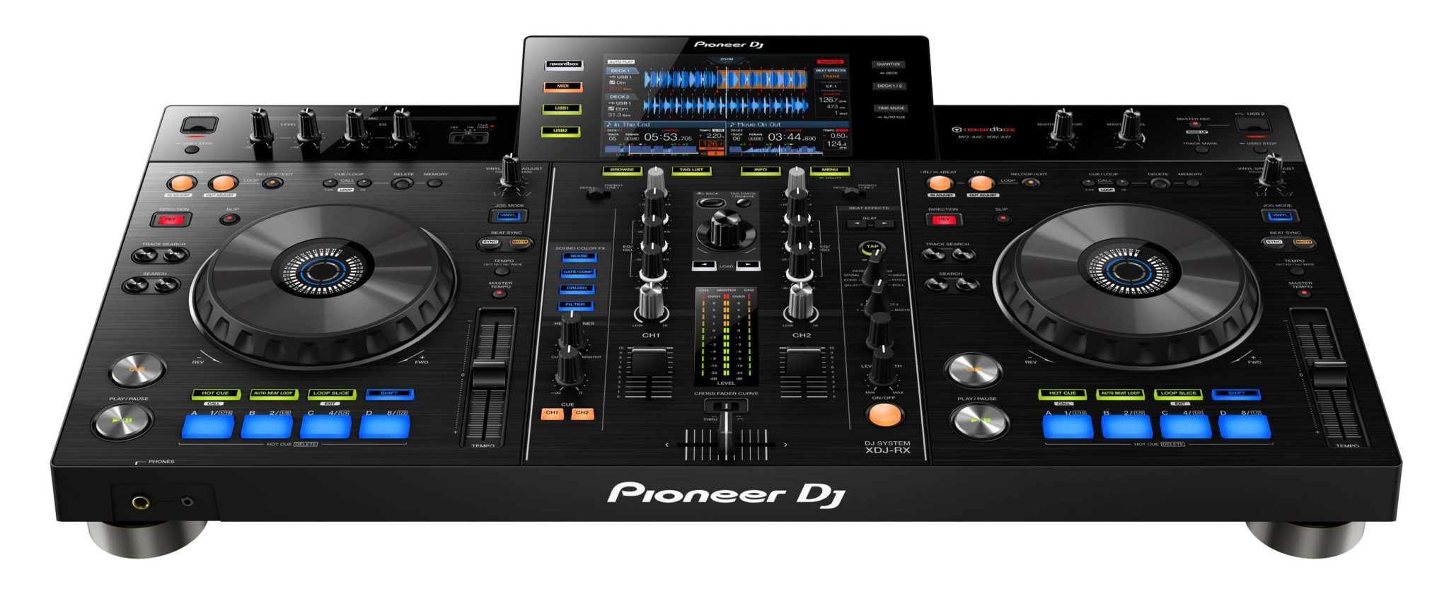 pioneer xdj rx evolution of the all in one dj system passionate dj. Black Bedroom Furniture Sets. Home Design Ideas