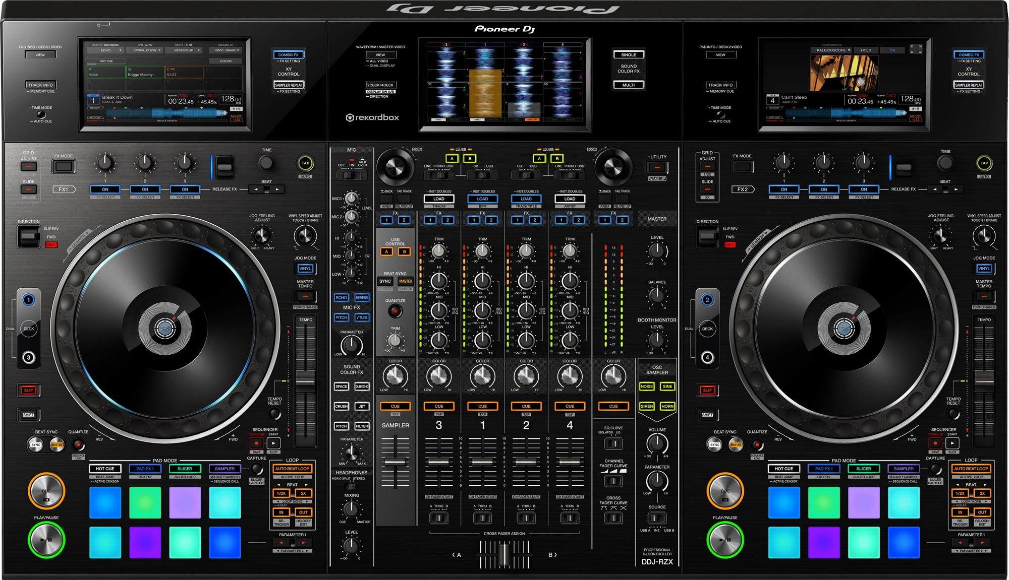 The Pioneer DDJ-RZX is a sight to behold.